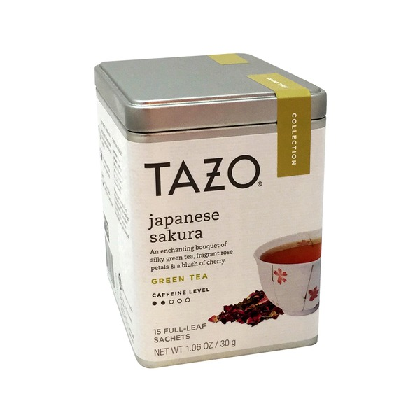 Tazo Tea Japanese Sakura Green Tea