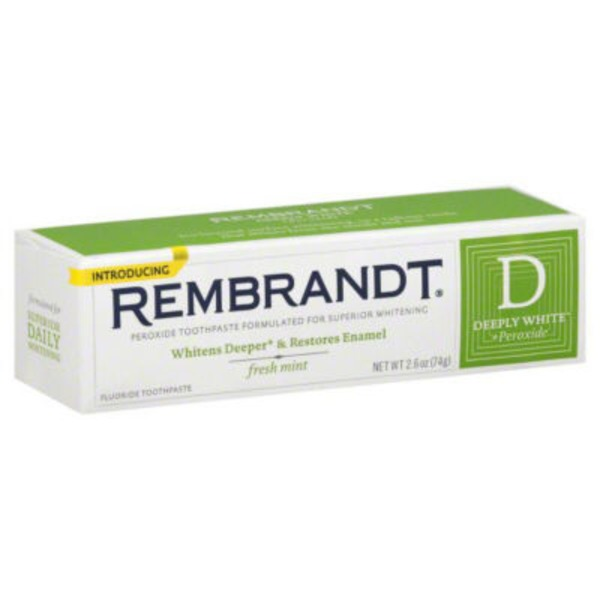 Rembrandt® Rembrandt Deeply White + Peroxide Whitening Toothpaste