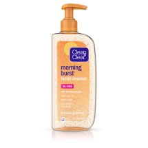 Clean & Clear Morning Burst Facial Cleanser For Skin Care Routines, 8 Fl. Oz.