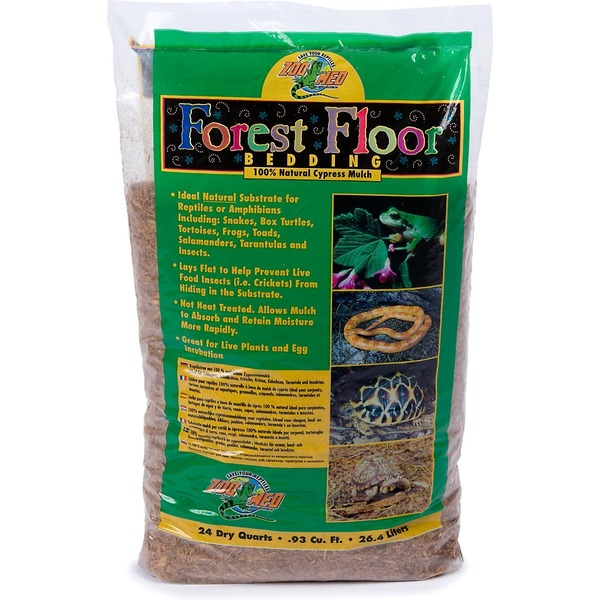 Zoo Med Forest Floor Bedding, 100% natural Cypress mulch