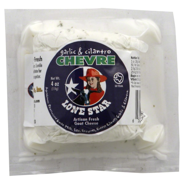 Lone Star Nut Garlic & Cilantro Goat Cheese