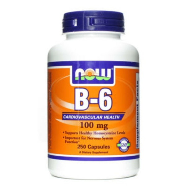 Now B-6 100 Mg Capsules