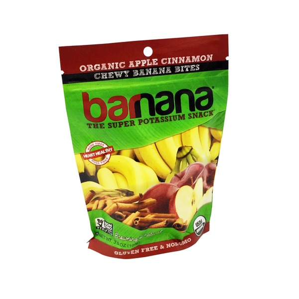 Barnana Organic Apple Cinnamon Banana Bites