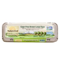 NatureFed Cage Free Large Brown Grade A Eggs