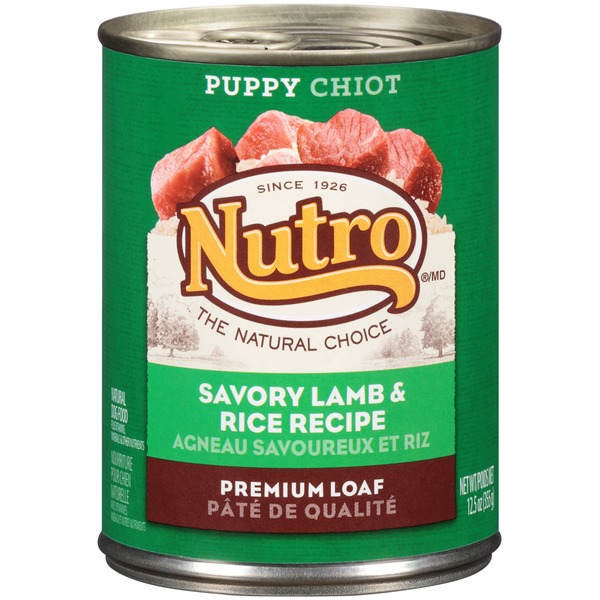 Nutro Puppy Tender Lamb Recipe Bites in Gravy Natural Dog Food