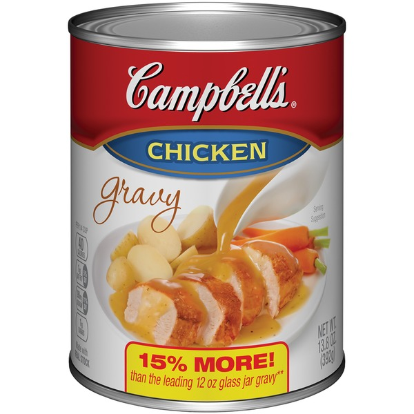 Campbell's Chicken Canned Gravy