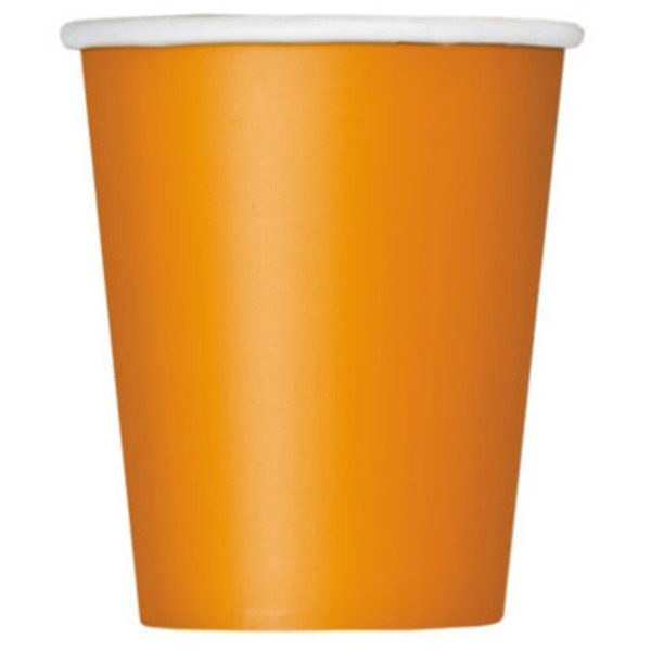 Unique Pumpkin Orange 9 Oz Cup