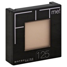 Maybelline Fit Me Set + Smooth Powder, 125 Nude Beige, 0.3 oz