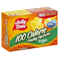 Jolly Time Healthy Pop 100 Calorie Mini Bags Butter Flavor Popcorn - 4