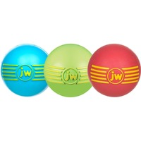 JW Pet I Squeak Rubber Ball Dog Toy, Small