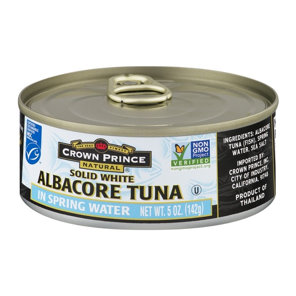 Crown Prince Tuna in Spring Water Albacore Solid White