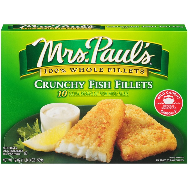 Mrs. Paul's Crunchy  Fish Fillets