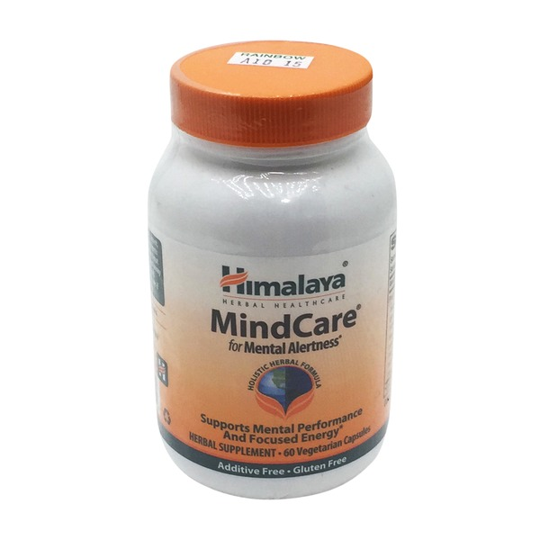 Himalaya MindCare for Mental Alertness Vegetarian Capsules
