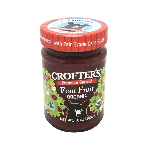 Crofter's Spread, Premium, Organic, Four Fruit