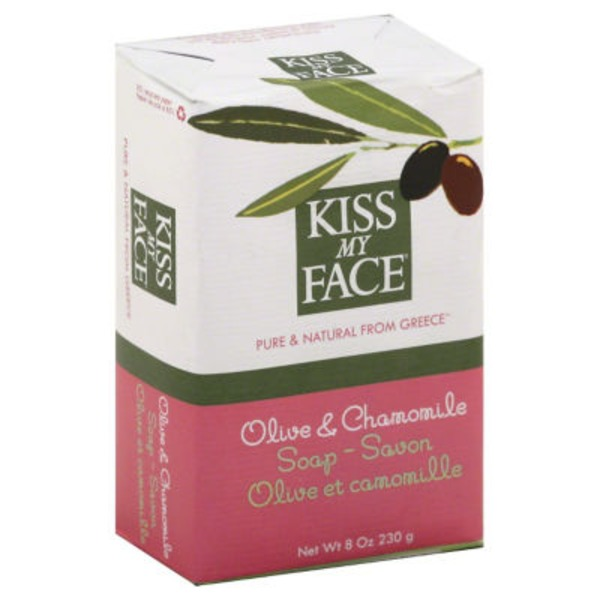 Kiss My Face Soap Olive & Chamomile