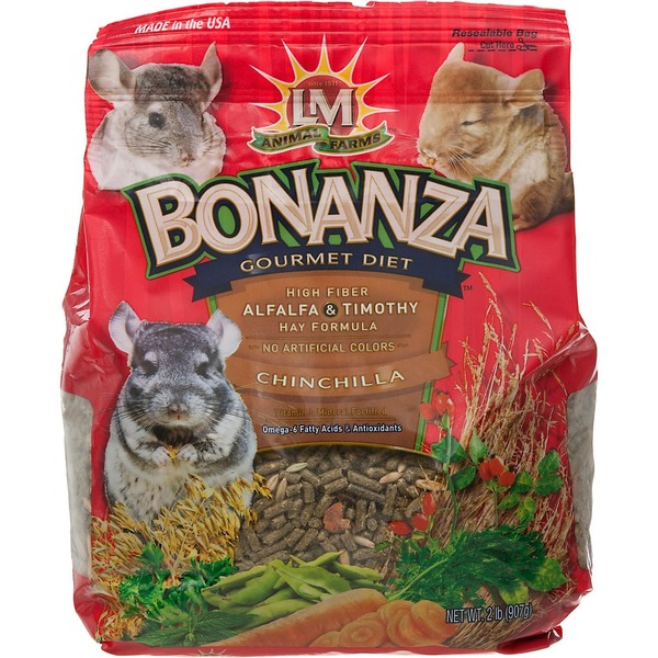 Lm Animal Farms Bonanza Gourmet Diet Chinchilla Food