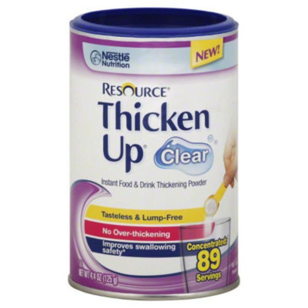 Resource Drink Thickening Powder 89 Servings Thicken Up Clear