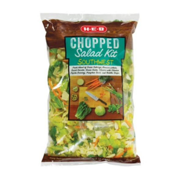 H-E-B Chopped Southwest Salad Kit