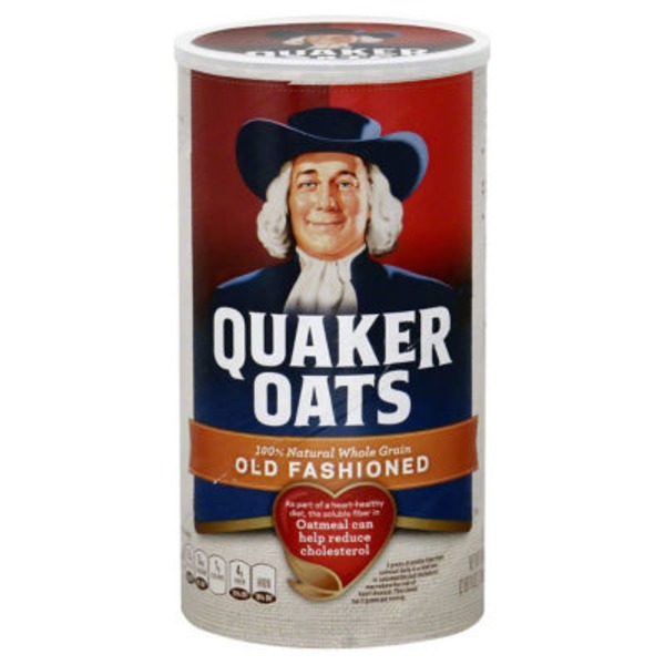 Quaker Oats 100% Whole Grain Old Fashioned Oatmeal