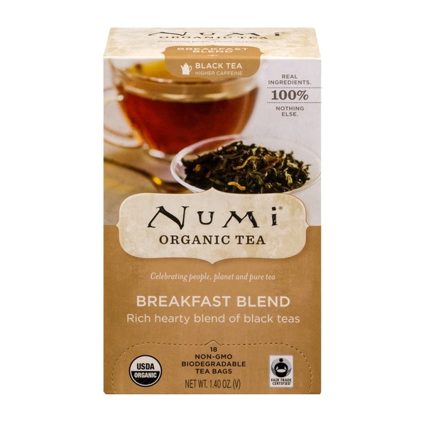 Numi Breakfast Blend Organic Tea