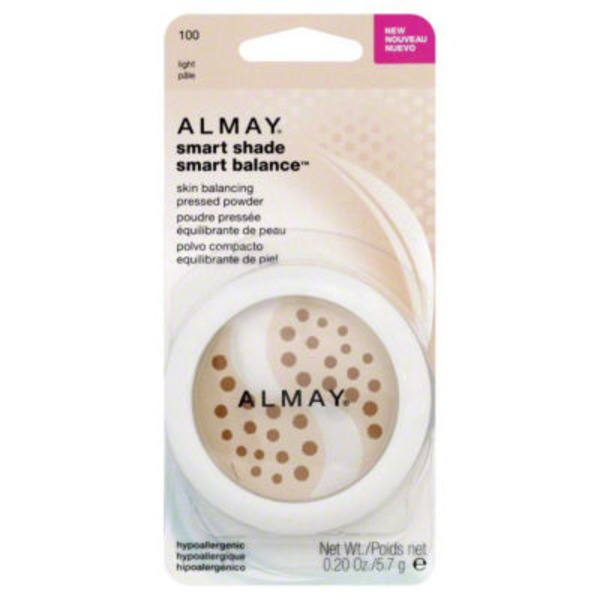 Almay Smart Shade Smart Balance 100 Light Pressed Powder