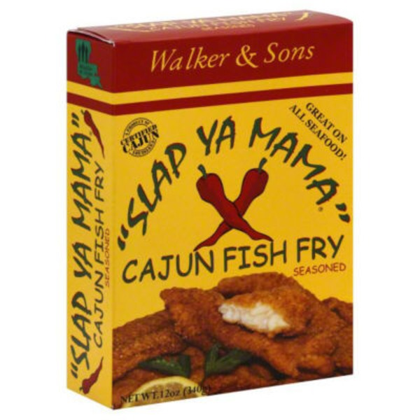 Slap Ya Mama Seasoned Cajun Fish Fry