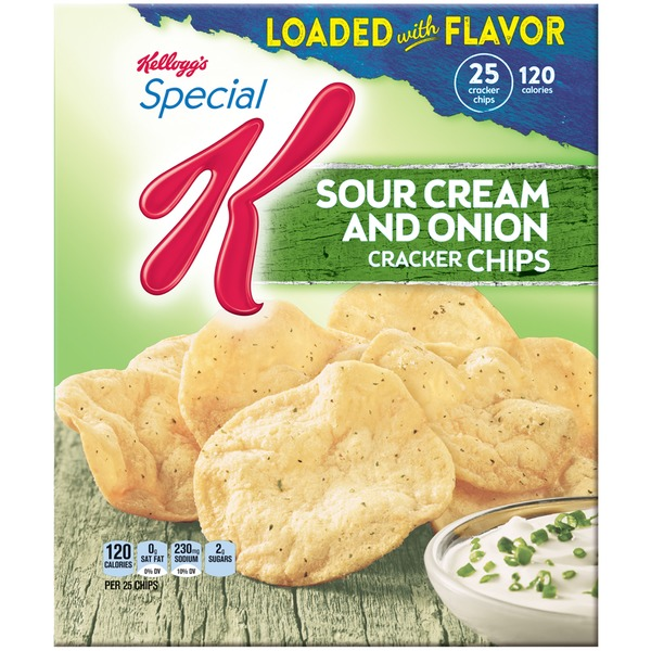 Kellogg's Special K Sour Cream & Onion Cracker Chips