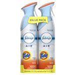 Febreze AIR Freshener with Tide Original Scent 8.8oz (Pack of 2)