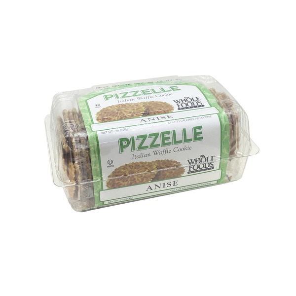 Whole Foods Market Pizzelle Traditional Anise Cookies