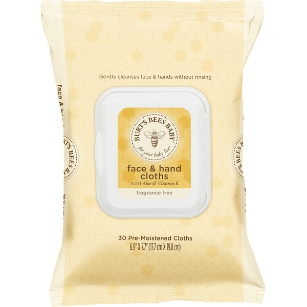 Burt's Bees Baby Bee Face & Hand Cloths
