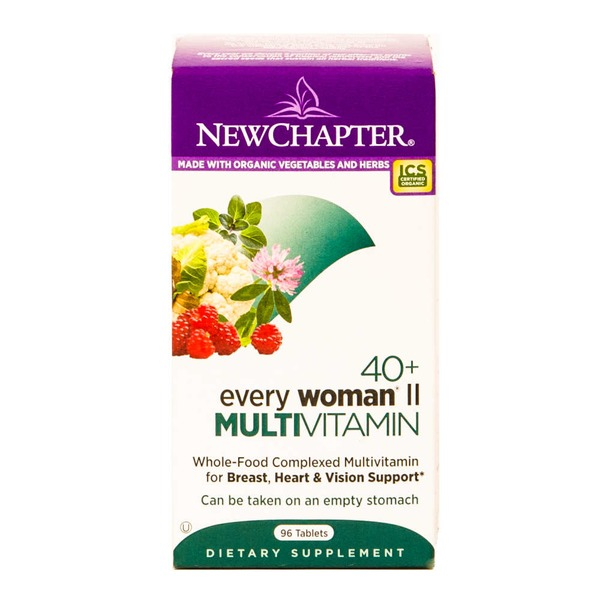 New Chapter 40+ Every Woman II Multivitamin