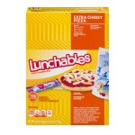 Lunchables Lunch Combinations Extra Cheesy Pizza, 4.6 OZ
