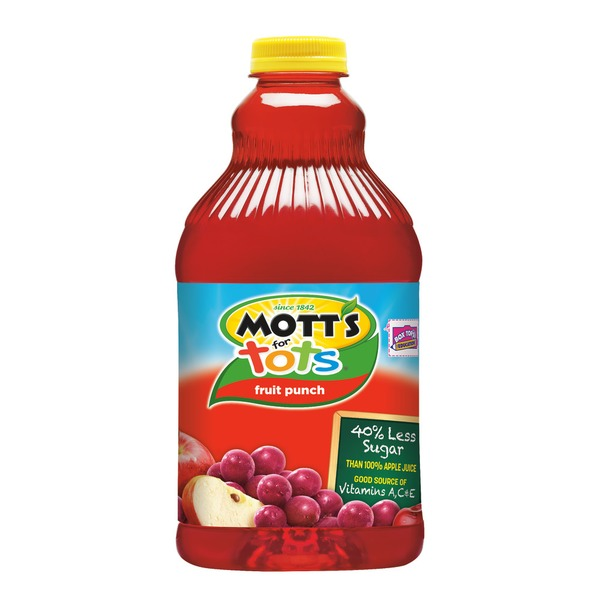 Mott's For Tots Fruit Punch Regular Juice Drink