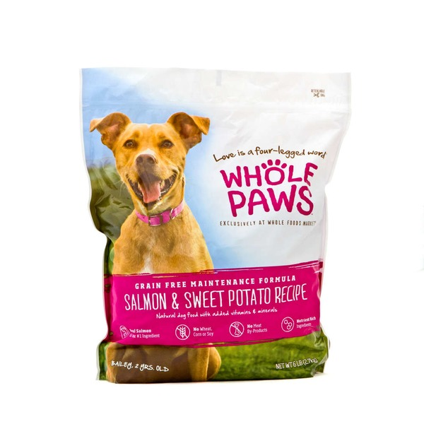 Whole Paws Salmon & Sweet Potato Maintenance Formula Dog Food