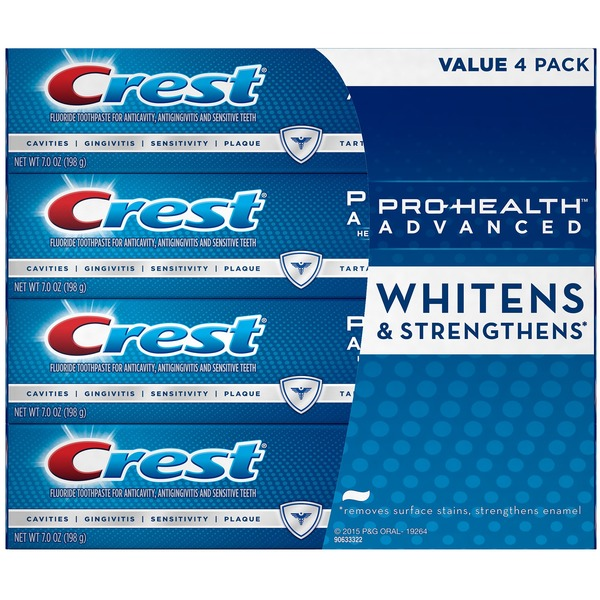 Crest Pro-Health Advanced Toothpaste Value Pack