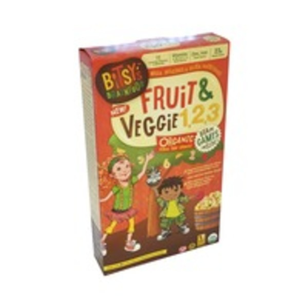 Bitsy's Brainfood Fruit & Veggie 1,2,3