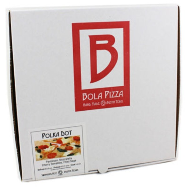 Bola Pizza Polka Dot Frozen Pizza