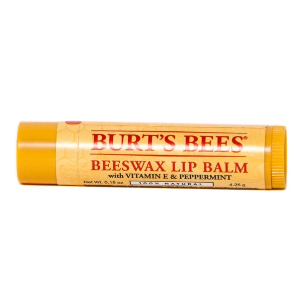 Burt's Bees Beeswax Lip Balm with Vitamin E & Peppermint