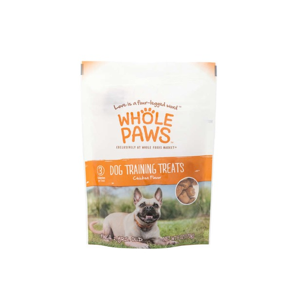 Whole Paws Chicken Dog Training Treats