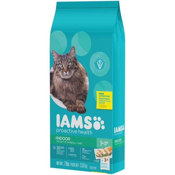 Iams Proactive Health Indoor Weight & Hairball Care Cat Food