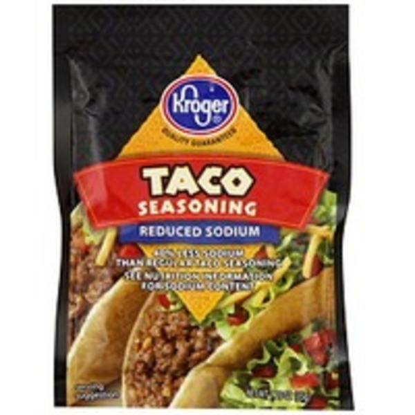 Kroger Taco Seasoning