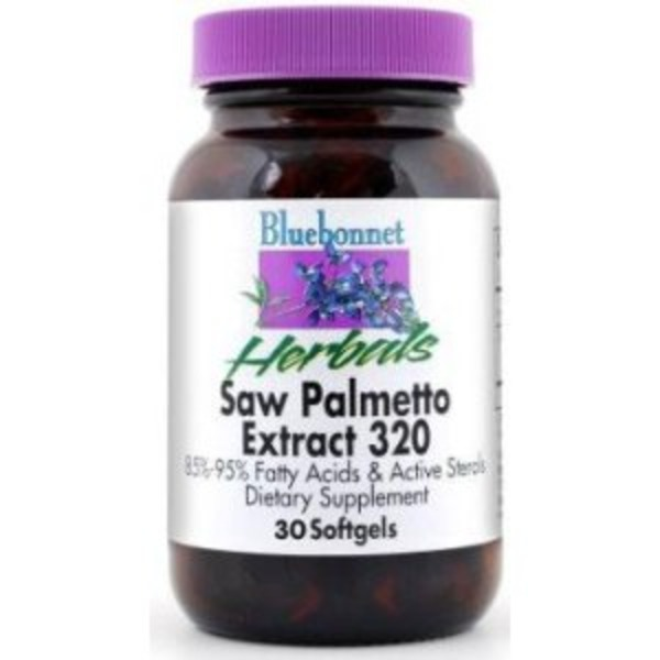 Bluebonnet Extra-Strength Saw Palmetto Berry Extract 30 Softgel