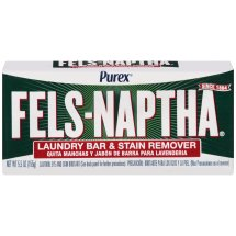 Purex Fels-Naptha Laundry Bar & Stain Remover, 5 Ounce