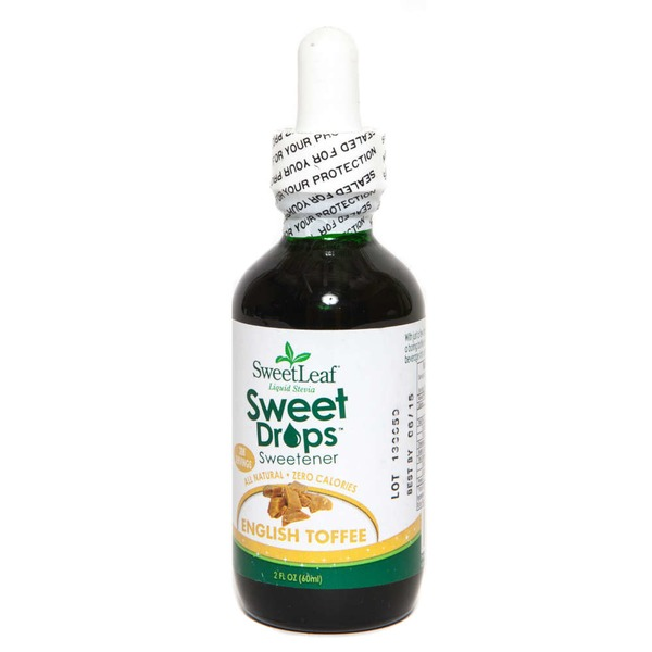 Sweet Leaf Tea Co Sweet Drops English Toffee Stevia