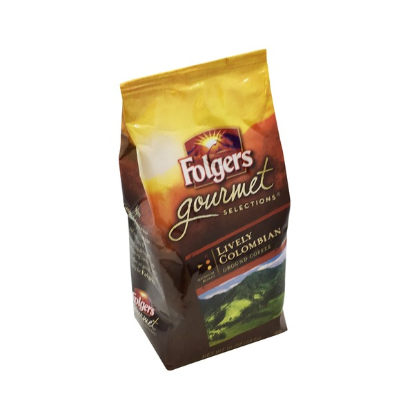 Folgers Coffee, Ground, Medium Roast, Lively Colombian