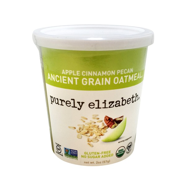 Purely Elizabeth Apple Cinnamon Pecan Oatmeal Cup