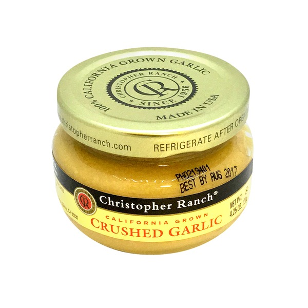 Christopher Ranch Crushed Garlic