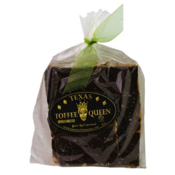 Texas Toffee Queen Dark Chocolate Salted Jalapeno Covered Toffee
