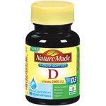 Nature Made: Vitamin D 2000 I.U. Liquid Softgels Dietary Supplement
