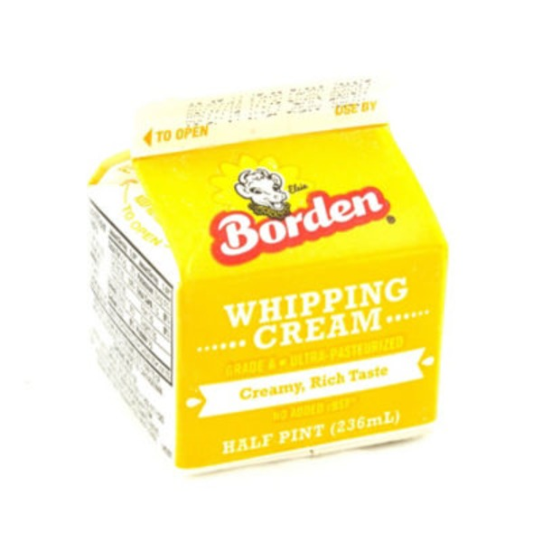 Borden Whipping Cream